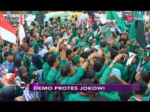 Ratusan Mahasiswa di Jambi, Makassar, dan Medan Demo Keluhkan Pemerintahan Jokowi - iNews Sore 14/09