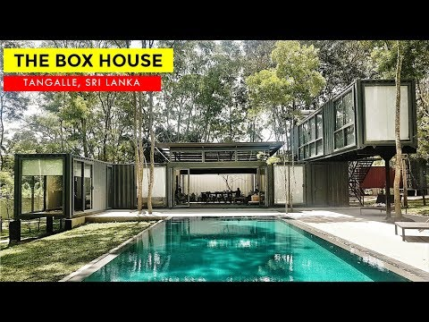 The Box House Tangalle: Container Holiday Villa in Sri Lanka