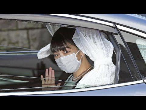 فيديو: أميرة اليابان تتخلى عن صفتها الملكية بعد الزواج