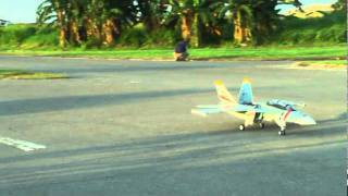 rc fly eagle jet f18 1 875 with k140