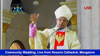Community Wedding, Live from Rosario Cathedral, Mangalore