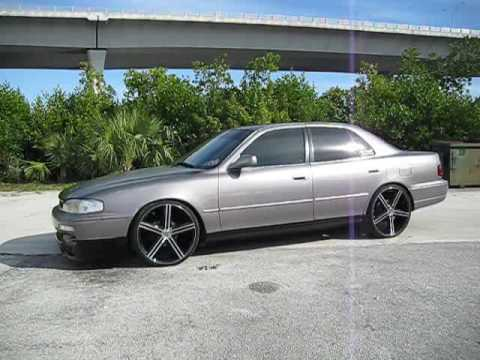 My 95 Camry On 20 S Hittin Switches Youtube