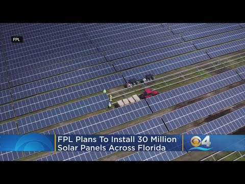 Florida Power & Light Unveils 'Bold' Plan To Become Global Leader In Solar Power