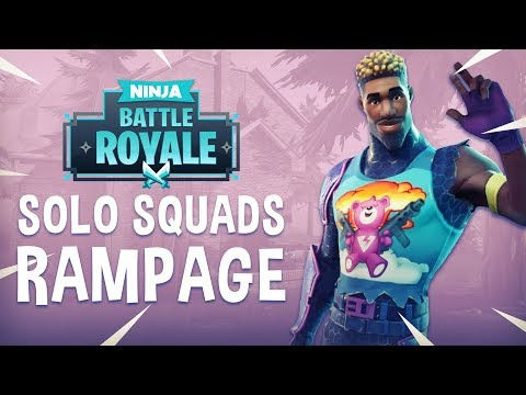 Solo Squads Rampage!! - Fortnite Battle Royale Gameplay - Ninja