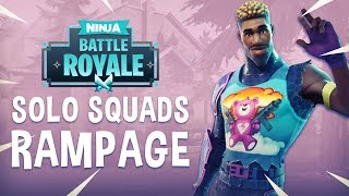 Solo Squads Rampage!! - Fortnite Battle Royale Gameplay - Ninja