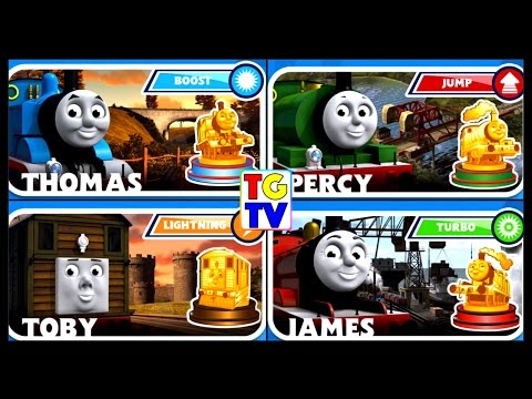 Thomas & Friends  Thomas Toby Emily James Percy  Go Go Thomas