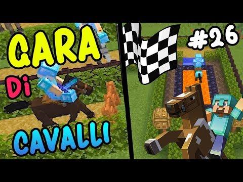 LaSabriCraft#26: la GARA di CAVALLI più EPICA e divertente di sempre!!