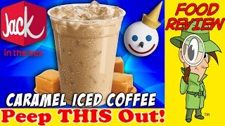 Jack In The Box® | Caramel Iced Coffee Review! Peep THIS Out!