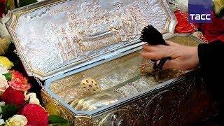 Мощи святого Димитрия Солунского доставили в Екатеринбург из Греции