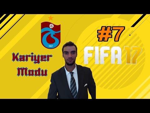 Fifa 17 Trabzonspor Kariyer Modu//Bölüm 7#Wonderkid Abdulkadir..!