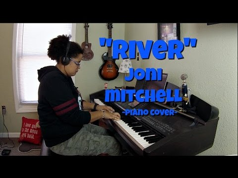 Joni Mitchell- River w/SHEET MUSIC (Piano Cover by Jen Msumba)