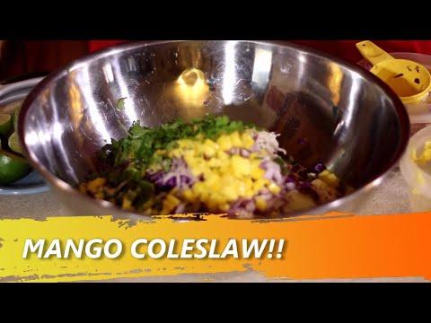 MANGO COLESLAW!!