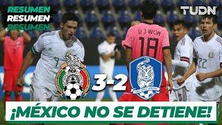 Resumen y goles | México 3-2 Corea del Sur | Amistoso 2020 | TUDN