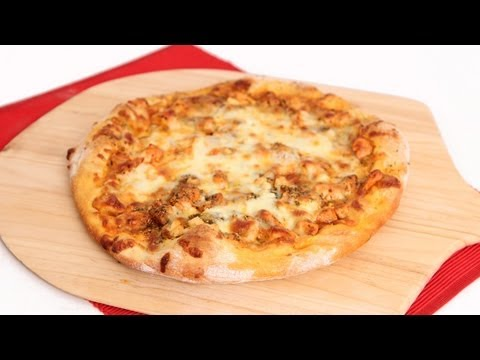Buffalo Chicken Pizza Recipe - Laura Vitale - Laura in the Kitchen Episode 636