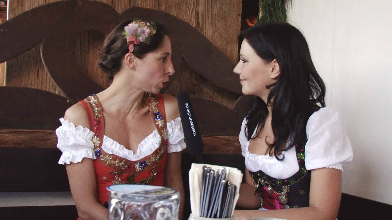 dirndl check mit lola paltinger oktoberfest 2010 youtube. Black Bedroom Furniture Sets. Home Design Ideas