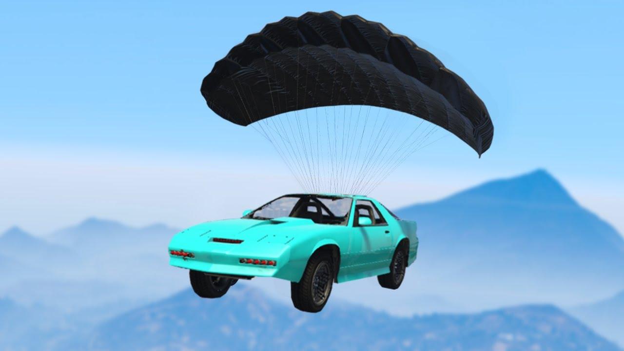 İNANILMAZ 5,700,000$ PARAŞÜTLÜ ARABA! (GTA 5 Online DLC)
