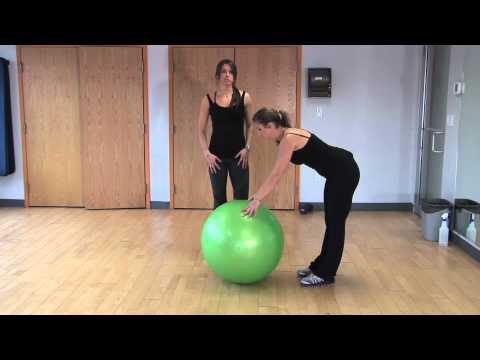 beginner exercise ball workout  diet  youtube