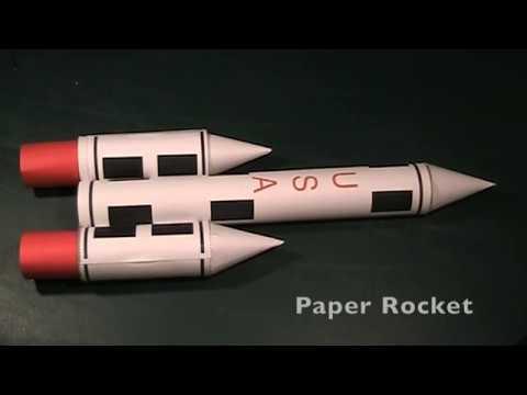 Build a Paper Rocket!