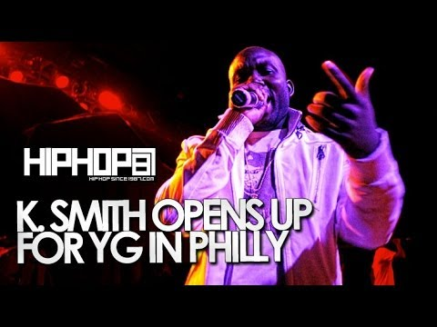 K Smith Performs Live in Philly (4/29/14)