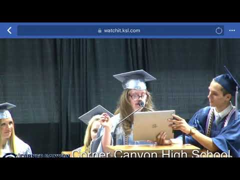 Corner Canyon High School Graduation 2018