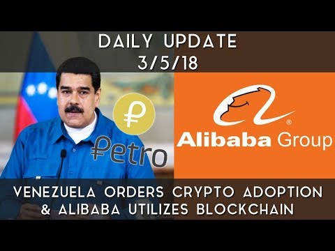 Daily Update (3/5/2018) | Venezuela forces adoption of cryptocurrency