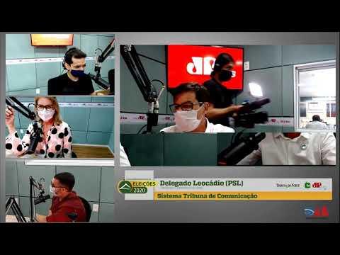Assista entrevista com o candidato à Prefeitura do Natal, Delegado Sérgio Leocádio (PSL)