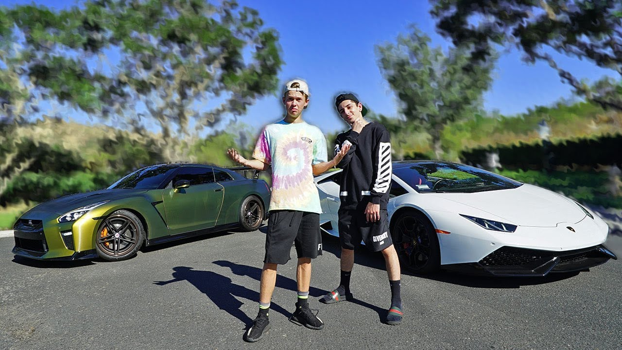 LAMBORGHINI VS GTR RACE!! ($10,000 BET vs FaZe Rug) Video