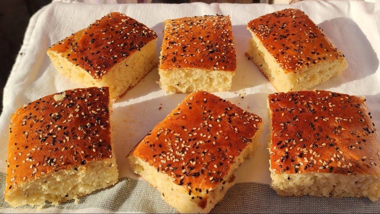 خبز الدار للعيد بدون دلك خفيف وبنين...سهل وسريع التحضير