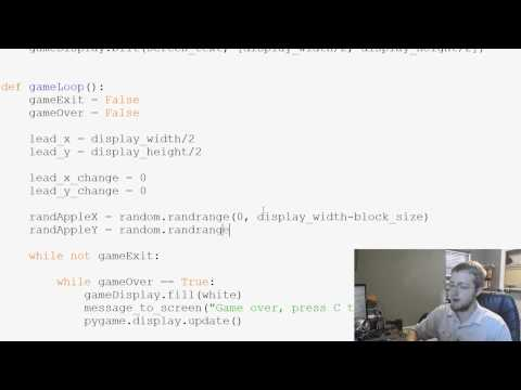 Pygame (Python Game Development) Tutorial - 16 - Adding an Apple