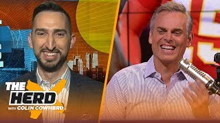 Download Nick Wright doesn't think the Clippers can outscore the Lakers, talks Baker issues & more | THE HERD Mp3 and Videos