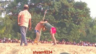 पायल (बनारसी)vs प्रियंका(झारखंड) कुश्ती दुर्गा पूजा बेहटा खजौली मधुबनी बिहार