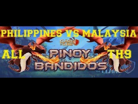 Philippines vs Malaysia Epic 50v50 Arranged War