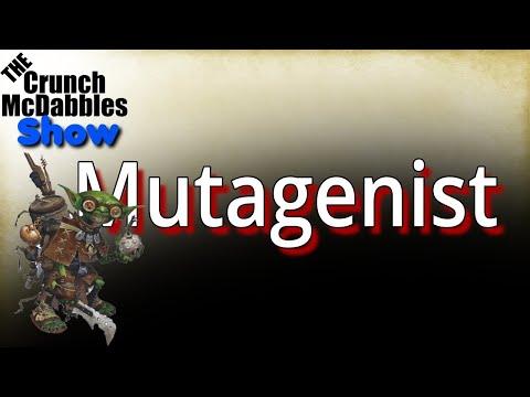 Pathfinder 2E: Mutagenist Alchemist |