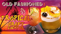 Twist on Old Fashioned & Tropical Craft Cocktail | Mount Gay Rum Recipes