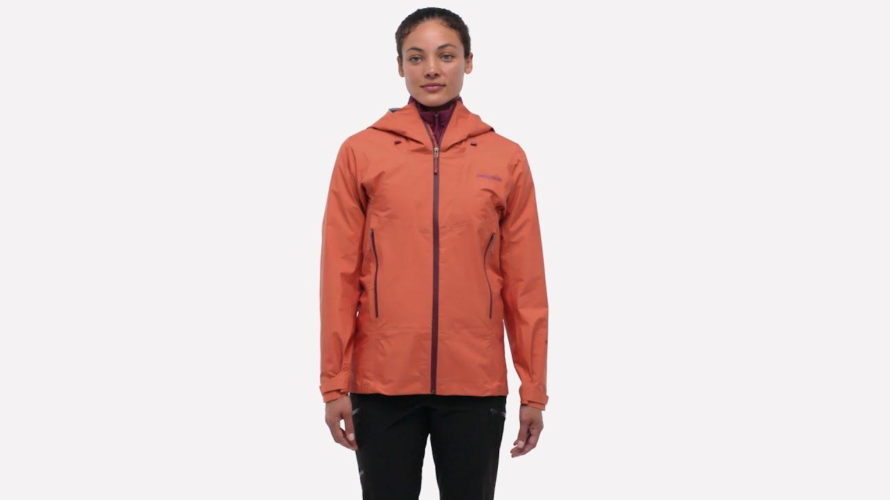 Patagonia Women's Ascensionist Damen Jacke sunset orange