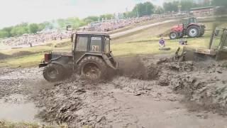 Гонки на тракторах  - Али Ахметов и Николай Васкан - Бизон Трек Шоу 2016