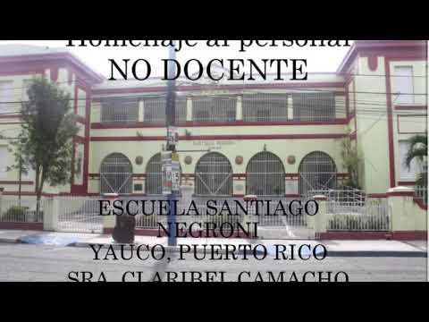 Homenaje al personal no docentes de la Escuela Santiago Negroni
