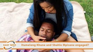 Itumeleng Khune and Sbahle Mpisane engaged?