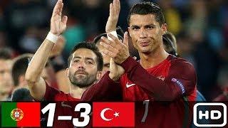 Турция Португалия 3 1 Обзор Товарищеского Матча 02 06 2012 HD