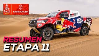 Al-Attiyah gana, pero Peterhansel sentencia el Dakar | Resumen Etapa 11 Dakar 2021 | SoyMotor.com