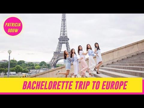 BACHELORETTE TRIP TO EUROPE  WITH MA GALSSS