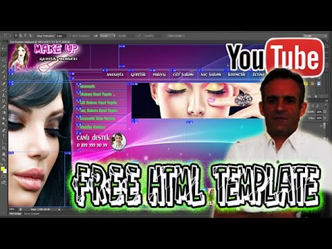 Free Html Templates Nasıl Yapılır ❤ Photoshop CS6