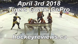 April 3rd 2018 Tigers Championship Game! Hockey Goalie GoPro