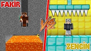 FAKİR TROLL TUZAK VS ZENGİN TROLL TUZAK! 😱 - Minecraft