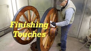 Finishing Touches - Spanish Cannon Wheels 11