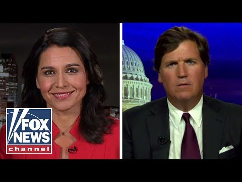 Tulsi Gabbard tells Tucker why she is suing Google