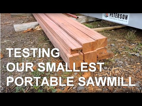 Affordable Portable Sawmill
