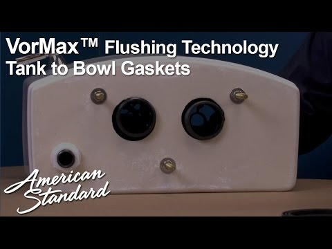 Vormax Toilet Tank To Bowl Gasket Kit Installation