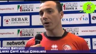 17-04-2013: Intervista a Marco Santucci nel post Molfetta-Corigliano 3-0 G3SPO