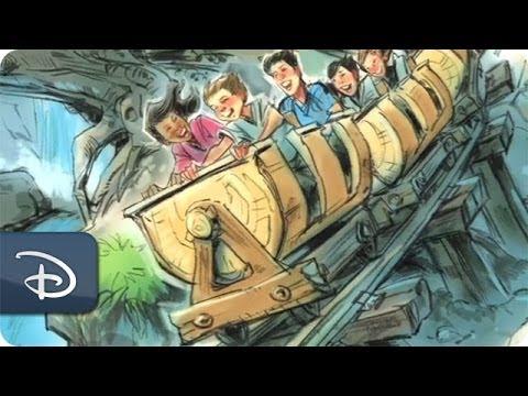 Designing Seven Dwarf Mine Train Cars | Walt Disney World